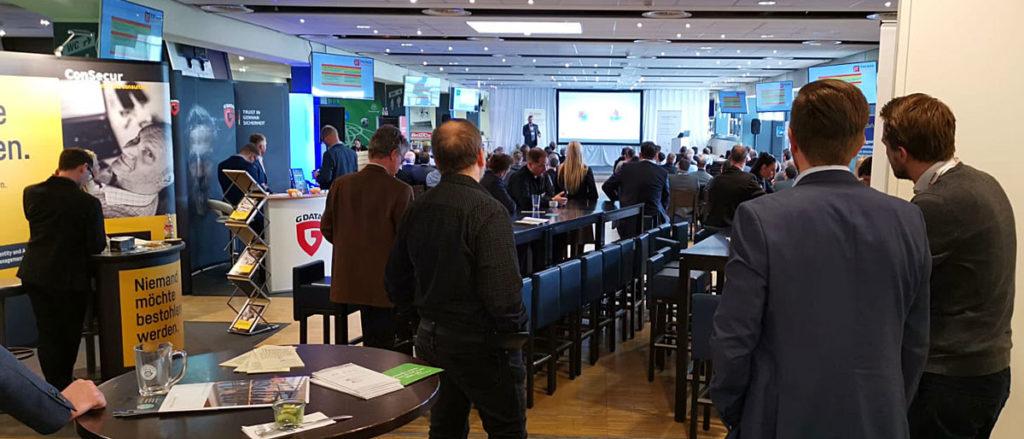 Sebastian Fieber / Secure Corner GmbH auf der 15. IT-Trends Sicherheit 2019